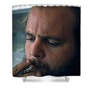 Dick T. Shower Curtain