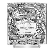 Dickens: Dombey And Son Shower Curtain