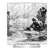 Dickens: Our Mutual Friend Shower Curtain