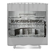 Dick's Brewery-historical Architecture  Shower Curtain