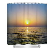Die With Me Sea Shower Curtain