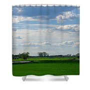 Diepenveen Countryside Shower Curtain