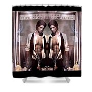 Diesel For Life Shower Curtain