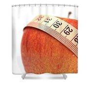Diet Concep Shower Curtain