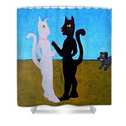 Different Camps Shower Curtain