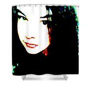 Different Eyes Shower Curtain
