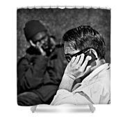 Different Lives Shower Curtain