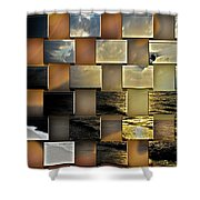 Different Shores  Shower Curtain