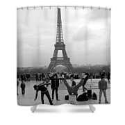 Different View Shower Curtain