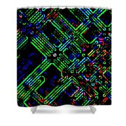 Diffusion Component Shower Curtain