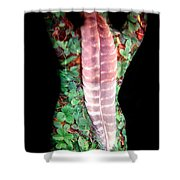 Digi Shower Curtain by Arla Patch