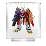 Digimon Shower Curtain
