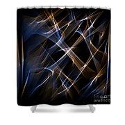 Digital Art 50 Shower Curtain