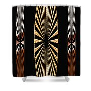 Digital Art Design Shower Curtain