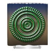 Digital Art Dial 3 Shower Curtain