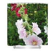 Digital Artwork 1390 Shower Curtain