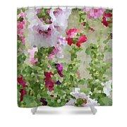 Digital Artwork 1393 Shower Curtain