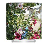 Digital Artwork 1399 Shower Curtain