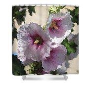 Digital Artwork 1414 Shower Curtain