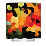 Digital Artwork 708 Shower Curtain