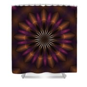 Digital Doodle 110610a Shower Curtain