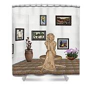 digital exhibition _ Memories of childhood 6 Shower Curtain