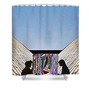 Digital-media-print-divide-nostalgia Shower Curtain