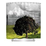 Digital Photography - The Prisoner Shower Curtain