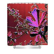 Figtree Leaves 3 Shower Curtain
