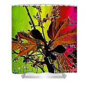 Figtree Leaves 4 Shower Curtain