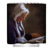 Dignity Of Age Shower Curtain