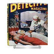 Dime Novel 1933 Shower Curtain