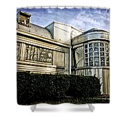 Diner Reflections Shower Curtain