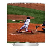 Dinger Shower Curtain