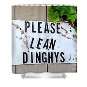 Dinghy Do's Shower Curtain