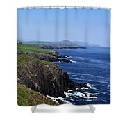 Dingle Coast Near Fahan Ireland Shower Curtain