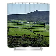 Dingle Peninsula Panorama Ireland Shower Curtain