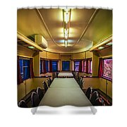 Dining In Style Shower Curtain