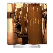Dining Room Candles Shower Curtain