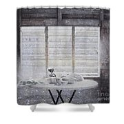 Dining Table- Swink Shower Curtain