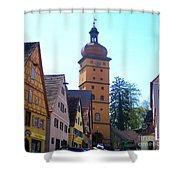 Dinkelsbuhl 10 Shower Curtain