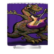 Dinorock Shower Curtain