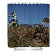 Dinosaur 10 Shower Curtain