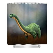 Dinosaur Valley State Park Shower Curtain
