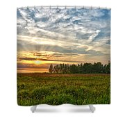 Dintelse Gorzen Sunset Shower Curtain