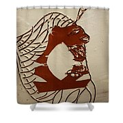 Dionte - Tile Shower Curtain