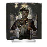Dionysus God Of Grape Shower Curtain