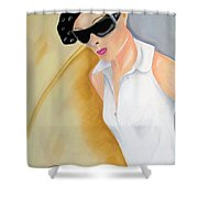 Dior..2 Shower Curtain