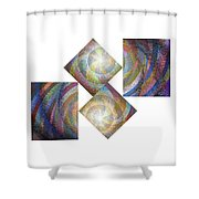 Dipole Shower Curtain