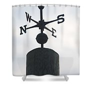 Directions Shower Curtain